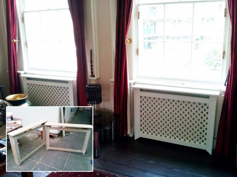 Custom radiator covers