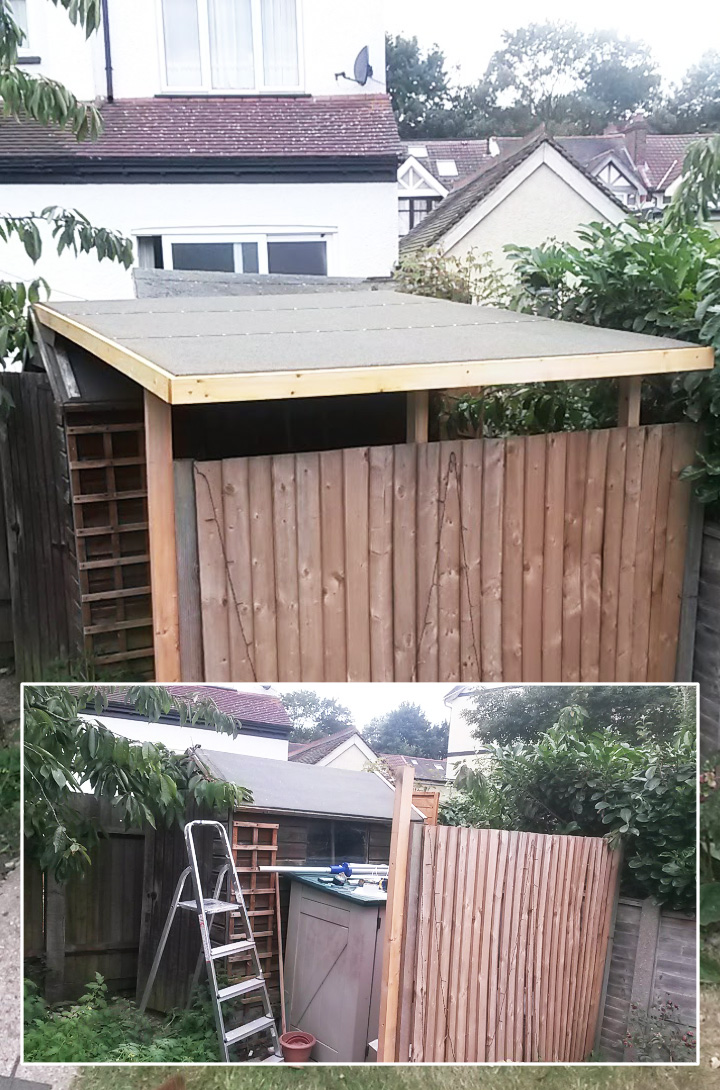 Shed extension